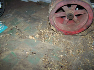 Tractor Side PTO Pulley