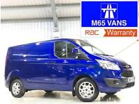64 FORD TRANSIT CUSTOM LIMITED 2.2TDCi 125PS 270 L1H1 SWB METALLIC BLUE 125 BHP