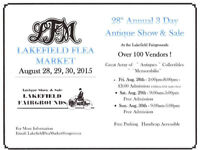 28th Antique and Collectible Show-Lakefield Flea Market