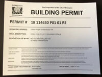 Design & Drafting- Building Permit, Legal Basement, Zoning etc.