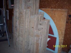 Planches 6  5/8 po x 7/8 pour couverture ou déco