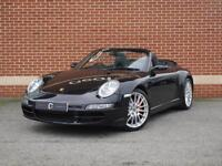2008 08 Porsche 911 3.8 997 Carrera 4S Tiptronic S AWD (Black, Petrol)