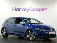 2019 Volkswagen Golf 2.0 TSI 300 R 5dr 4MOTION DSG Petrol blue Automatic