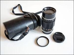 rangefinder Canon Leica 135mm 3.5 lens LTM, M39
