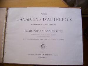 Livre des oeuvres d'Edmond-J. Massicote Saint-Hyacinthe Québec image 2
