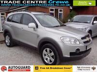 2009 CHEVROLET CAPTIVA 2.0 LT VCDI DIESEL AUTO 7 SEAT CAR FINANCE FROM £25 P/WK