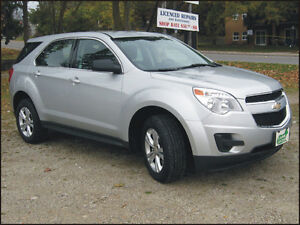 2011 Chev Equinox AWD $9,995 cert + hst or $305/month