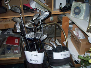 Golf ClubsDrivers,Putters,Wedges,Hybrids,Woods,Irons,Bags$3to$45