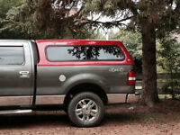 Red 2008 F150 canopy