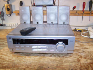 JVC HOME THEATRE RECEIVER & SPEAKERS