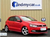 2012 12 Volkswagen Polo 1.4 DSG GTi in RED With FSH