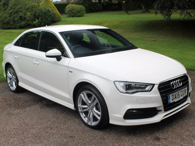 2015 15 audi a3 saloon 2 0tdi s line 4dr in huddersfield west yorkshire gumtree. Black Bedroom Furniture Sets. Home Design Ideas