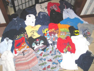 Lot of great 5 year Boy Clothes in good clean condition
