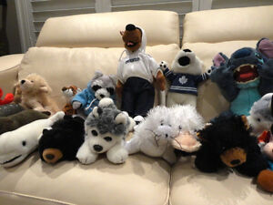 17 Pc. Plush Toy Collection -from a Supmoker Clean Non Sing Home Kitchener / Waterloo Kitchener Area image 5
