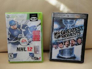 EA Sports NHL 12 XBox 360 Game  + NHL DVD - Brand new sealed Kitchener / Waterloo Kitchener Area image 1