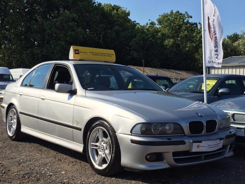 2001 Bmw 5 Series 2 9 530d Sport 4dr In Leicester