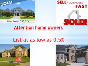 Attention home owners...List at 0.50%