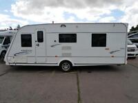 Compass Omega 550 4 Berth Caravan