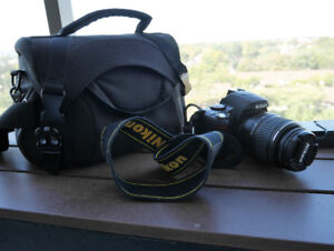 Nikon D40 kit with accessories