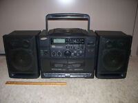 Samsung PCD-815 with am/fm/cd/dual casset