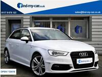 2014 64 Audi A3 1.4 TFSI ( 125ps ) Sportback S Line With Black Styling Pack