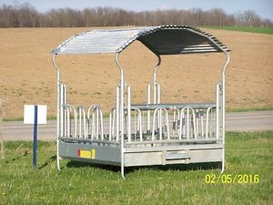 HORSE HAY FEEDER-GALVANIZED