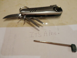 Handy Golf Tool -Cleat tool, Pen, Divot repair, Brush,Knife -New Kitchener / Waterloo Kitchener Area image 2