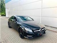 2013 13 Mercedes-Benz CLS350 3.0CDI Sport AMG BLACK + BLACK LEATHER + BIG SPEC