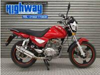 2016 Zontes Monster 150cc (Reg as 125cc) Max Torque Exhaust with 12 Month MOT