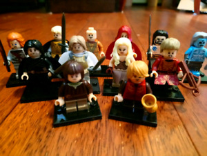 Game of thrones minifigure set. Two left