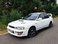 1997 P Reg Subaru Impreza WRX 2.0 Turbo white + NICE SPCE