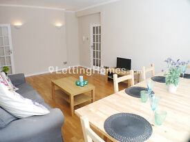 3 DOUBLE BEDROOM property with FITTED MODERN KITCHEN and 2 BATHROOMS (one en-suite) + PATIO