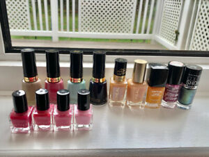 Various Nail Polish - Revlon, L'Oreal, Essence, Maybelline, etc.