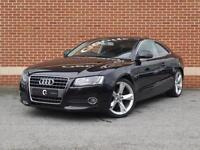 2008 08 Audi A5 1.8 TFSI Sport 2dr (Black, Petrol)