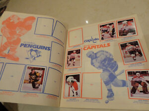 1982 NHL Hockey Sticker Album Kitchener / Waterloo Kitchener Area image 2