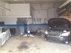 Auto repair shop unit for lease