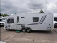 2011 Swift Conqueror 630 twin axle 4 berth caravan