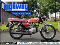 1988 Suzuki GP 125 Classic 2 Stroke Motorcycle Ride Or Restore with MOT