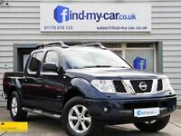 2007 07 Nissan Navara 2.5 dCi Outlaw Double Cab HEATED LEATHER | FSH | NO VAT