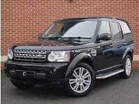 2009 59 Land Rover Discovery 4 3.0 TD V6 HSE 4X4 5dr (Black, Diesel)