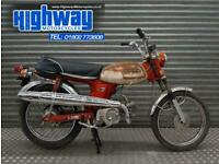 Honda CL70 Classic Moped Spares or Repairs Project Barn Find
