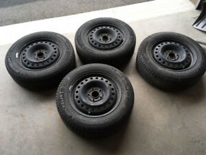 205/65/r16 winter tires and rims for sale