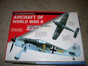 Aircraft of World War II Hard Cover Book
