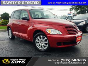 2008 Chrysler PT Cruiser | LOW KMS | SAFETY & E-TESTED
