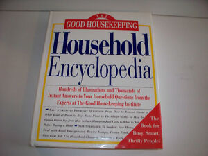 Book on Cleaning,Laundry,Food,Repair,Car Care,Safety and Health