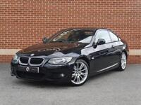 2011 61 BMW 3 Series 2.0 320i M Sport 2dr (Black, Petrol)