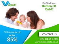 Get Free IVA Assessment and Write off upto 85% of your Debts