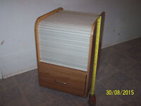Small Wheeled file cabinet