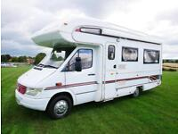 Compass Commodore Mercedes 312d 4 Berth Motorhome MANUAL 1998