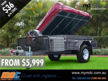 NEW MDC OFFROAD DELUXE CAMPER TRAILER 4X4 TENT 4WD ROAD SALE Somerton Hume Area Preview